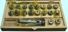 Набор цанговый КМ5 с цангами ER40 (3 - 25)