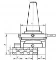 Головка расточная универс. 7:24-40 (5-400) ф18до160мм